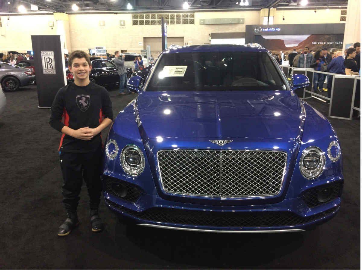Philadelphia Auto Show A Kids Blog On Luxury Cars SkysCarscom - When is the philadelphia car show