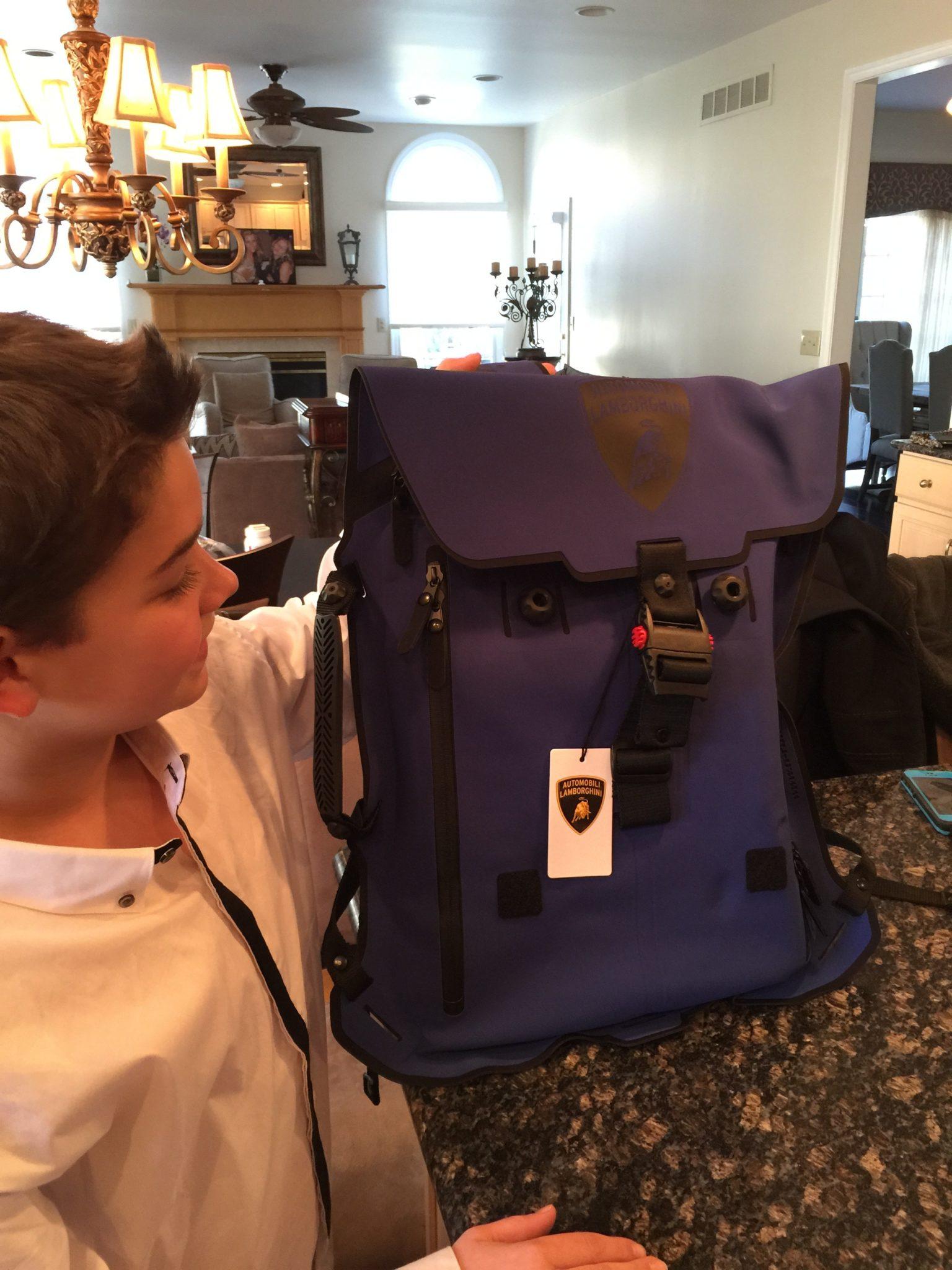 Lamborghini Backpack